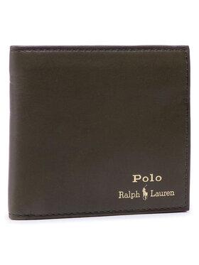 Polo Ralph Lauren Polo Ralph Lauren Velká pánská peněženka Mpolo SP21 D2 405803866003 Zelená