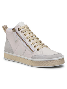 Geox Geox Laisvalaikio batai D Leelu' G D94FFG 08522 C1000 Balta
