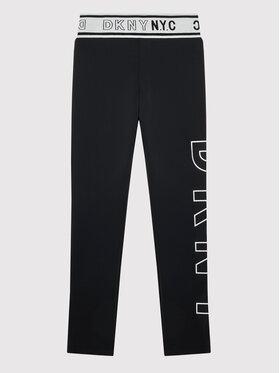 DKNY DKNY Leggings D34A38 D Fekete Slim Fit