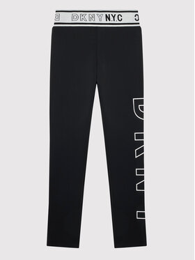 DKNY DKNY Leggings D34A38 D Noir Slim Fit