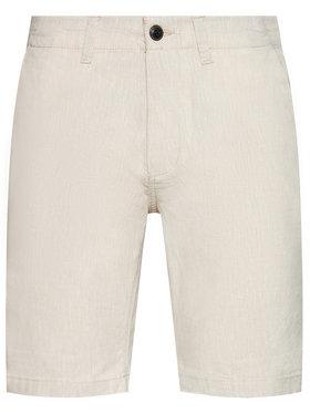 Jack&Jones Jack&Jones Pantalon scurți din material Dave 12184684 Bej Regular Fit