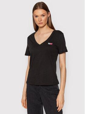 Tommy Jeans Tommy Jeans T-shirt Tiny DW0DW11349 Noir Slim Fit