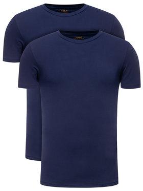 Polo Ralph Lauren Polo Ralph Lauren Σετ 2 T-Shirts 714621944 Σκούρο μπλε Slim Fit