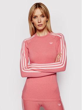 adidas adidas Majica Fakten GN4380 Ružičasta Slim Fit