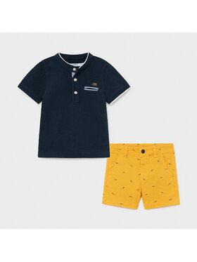 Mayoral Mayoral Set Polohemd und Shorts 1253 Bunt Regular Fit