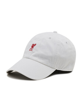 47 Brand 47 Brand Шапка с козирка Premier League Liverpool F.C. EPL-BSRNR04GWS-WH Бял