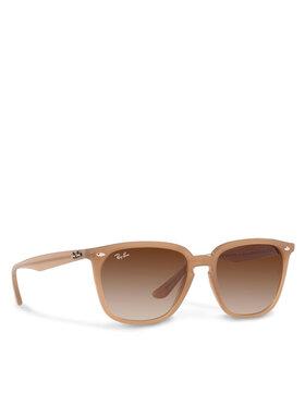 Ray-Ban Ray-Ban Okulary przeciwsłoneczne 0RB4362 616613 Brązowy