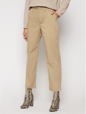 Vans Vans Pantaloni di tessuto Authentic Chino VN0A47SE Beige Regular Fit