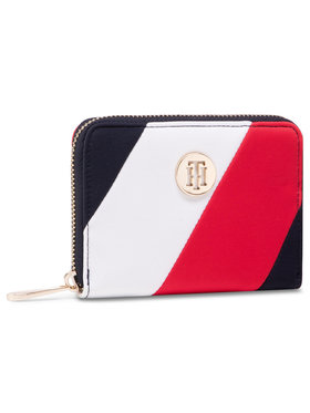 Tommy Hilfiger Tommy Hilfiger Portefeuille femme grand format Poppy Med Za Corp AW0AW09540 Blanc