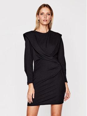 IRO IRO Koktejlové šaty Beckett AN690 Čierna Regular Fit