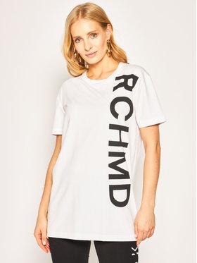 John Richmond John Richmond T-Shirt Turnholt UWA19014TS Biały Regular Fit