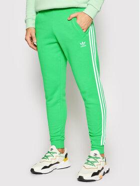 adidas adidas Teplákové nohavice adicolor Classics 3-Stripes H06686 Zelená Slim Fit