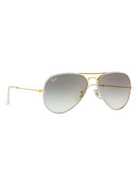 Ray-Ban Ray-Ban Okulary przeciwsłoneczne Aviator Full Color 0RB3025JM Złoty