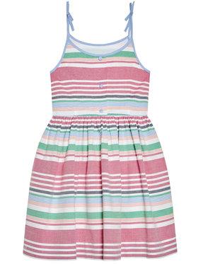 Polo Ralph Lauren Polo Ralph Lauren Sukienka codzienna Oxford 313832993001 Kolorowy Regular Fit