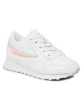 Fila Fila Sneakersy Orbit Low Kids 1010783.94W Biały