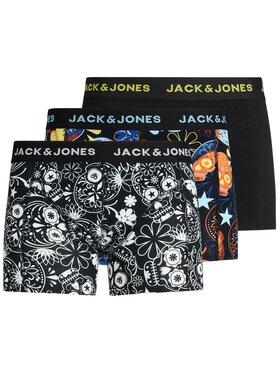 Jack&Jones Jack&Jones Súprava 3 párov boxeriek Sugar Skull 12185485 Farebná