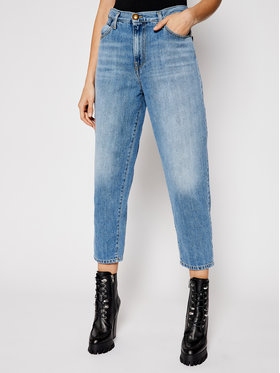 Pinko Pinko Jeans Flexi Maddie Mom PE 21 PDEN 1J10LL Y649 Blau Loose Fit