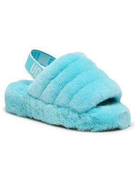 Ugg Ugg Pantofole W Fluff Yeah Slide 1095119 Blu