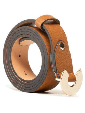 Coccinelle Coccinelle Dámský pásek HZ5 Belt E3 HZ5 11 06 07 Hnědá