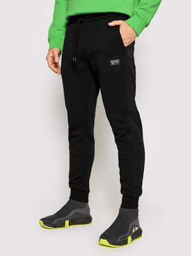 Calvin Klein Calvin Klein Pantaloni trening Premium Badge K10K106932 Negru Regular Fit