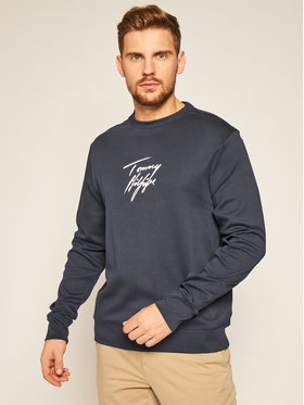 TOMMY HILFIGER TOMMY HILFIGER Bluza Track Top Lwk UM0UM02243 Granatowy Regular Fit
