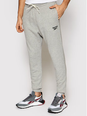 Reebok Reebok Pantalon jogging Identity GJ0633 Gris Regular Fit