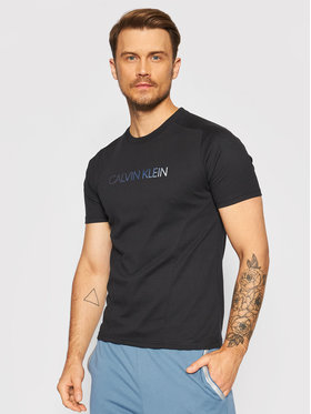 Calvin Klein Performance Calvin Klein Performance T-Shirt Pw 00GMT1K152 Czarny Regular Fit