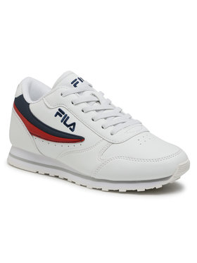 Fila Fila Sneakersy Orbit Low Kids 1010783.98F Biela