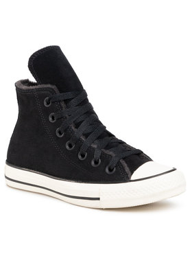 Converse Converse Кецове Ctas Hi 569399C Черен