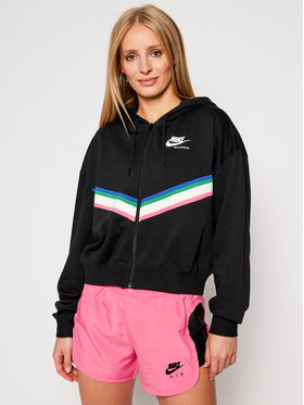 NIKE NIKE Sweatshirt Nsw Heritage CU5902 Schwarz Loose Fit