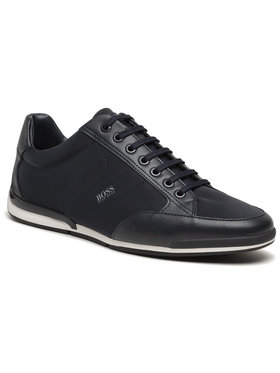 Boss Boss Sneakersy Saturn 50455323 10232529 01 Granatowy