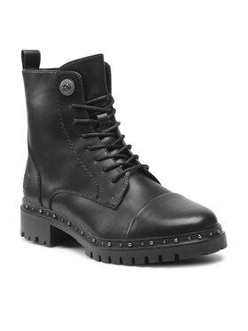 Rieker Rieker Outdoorová obuv 93802-00 Čierna