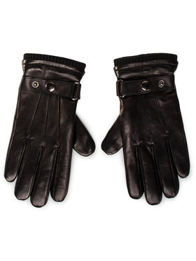 Gino Rossi Gino Rossi Pánske rukavice AR0137-000-BG00-9900-X Čierna