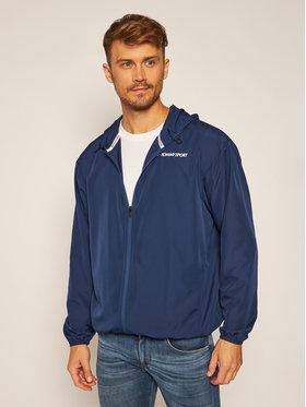Tommy Sport Tommy Sport Neperpučiama striukė Logo S20S200355 Tamsiai mėlyna Regular Fit