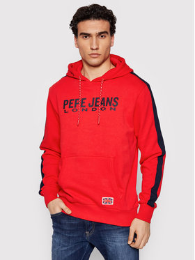 Pepe Jeans Pepe Jeans Felpa Andre PM582003 Rosso Regular Fit