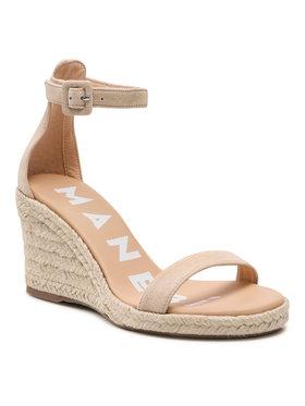 Manebi Manebi Εσπαντρίγιες Wedge Sandals M 1.1 Wg Μπεζ