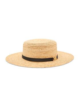 Tommy Hilfiger Tommy Hilfiger Καπέλο Summer Fedora AW0AW09803 Μπεζ