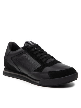 Calvin Klein Jeans Calvin Klein Jeans Sneakersy Low Profile Sneaker Laceup Suede YM0YM00292 Černá