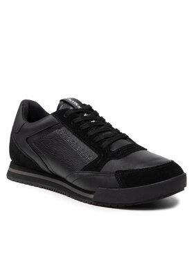 Calvin Klein Jeans Calvin Klein Jeans Sneakersy Low Profile Sneaker Laceup Suede YM0YM00292 Czarny