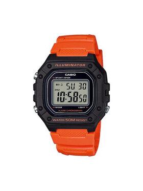 Casio Casio Часовник W-218H-4B2VEF Оранжев