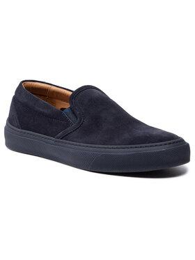 Boss Boss Sneakers aus Stoff Eclipse 50454250 10225507 01 Dunkelblau