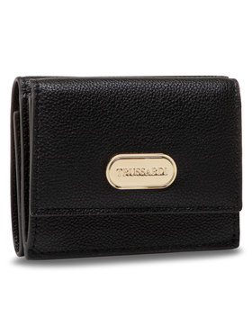 Trussardi Trussardi Portefeuille femme petit format Boston Wallet 75W00262 Noir