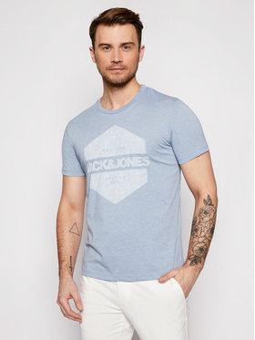 Jack&Jones Jack&Jones Marškinėliai Denim 12182577 Mėlyna Regular Fit