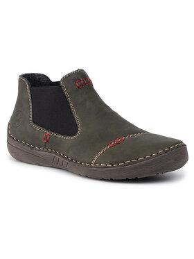 Rieker Rieker Členková obuv 52590-54 Zelená