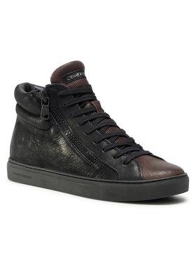 Crime London Crime London Sneakers High Top Double Zip 11687AA3.20 Nero
