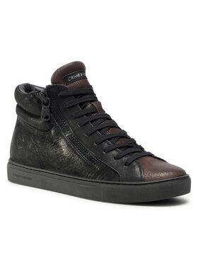 Crime London Crime London Sneakers High Top Double Zip 11687AA3.20 Noir