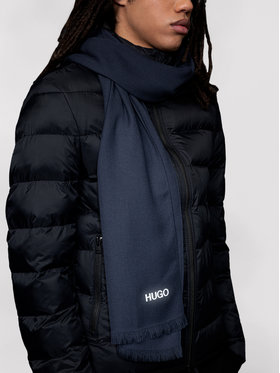 Hugo Hugo Sciarpa Z 399_3 50447197 Blu scuro