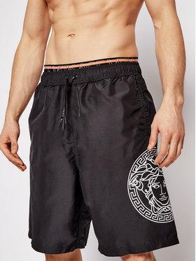 Versace Versace Plavecké šortky ABU13010 Čierna Regular Fit