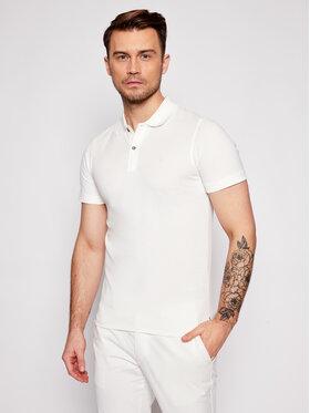 Jack&Jones Jack&Jones Тениска с яка и копчета Washed Polo 12180890 Бял Slim Fit