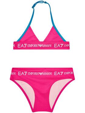 EA7 Emporio Armani EA7 Emporio Armani Strój kąpielowy 913009 1P453 02773 Różowy